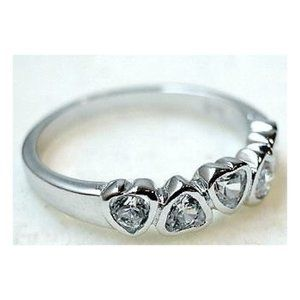 Heart Sterling Silver Ring